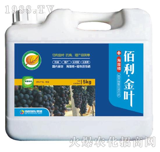 葡萄专用-(桶装)佰利・金叶-博佰利