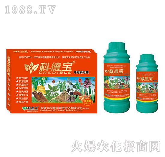 中草药专用营养增产调理剂-科德宝