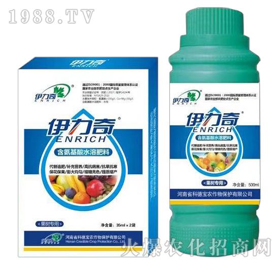 果��S煤�氨基酸水溶肥料-伊力奇-科德��