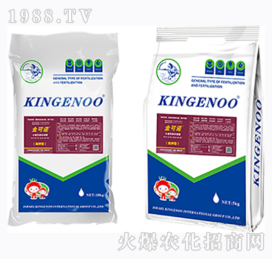 高钾型大量元素水溶肥12-8-43+TE-金可诺