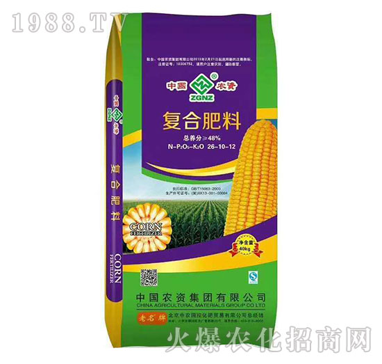 复合肥料26-10-12-中农国控