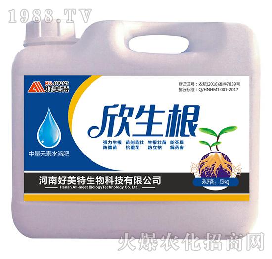 中量元素水溶肥 5kg-欣生根-好美特