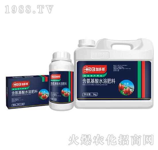 大枣专用含氨基水溶肥料-加多邦