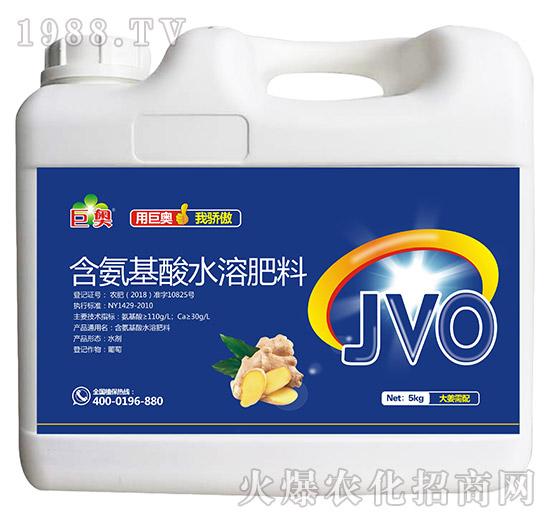 大姜需配含氨基酸水溶肥料-巨奥