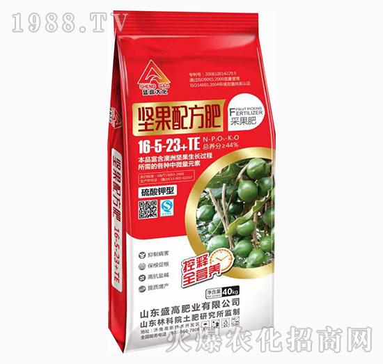 硫酸钾中微量元素16-5-23+TE-坚果配方配-盛高肥业
