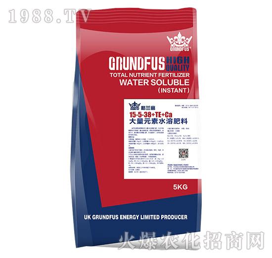大量元素水溶肥料15-5-38+TE+Ca-格兰富