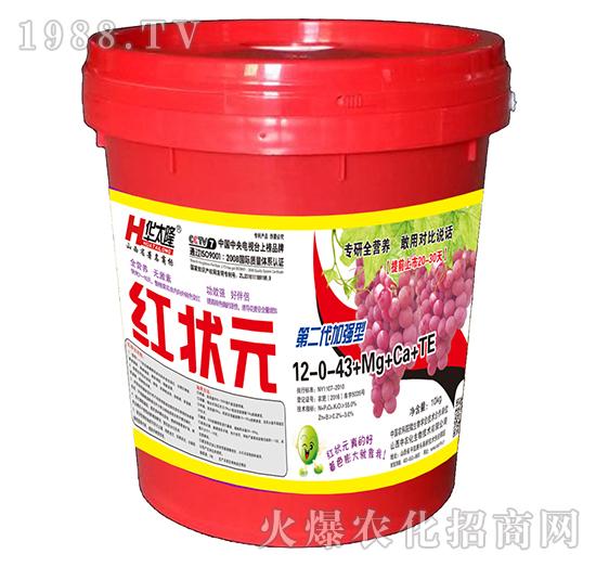 大量元素水溶肥-12-0-43+Mg+Ca+TE-红状元-中农化