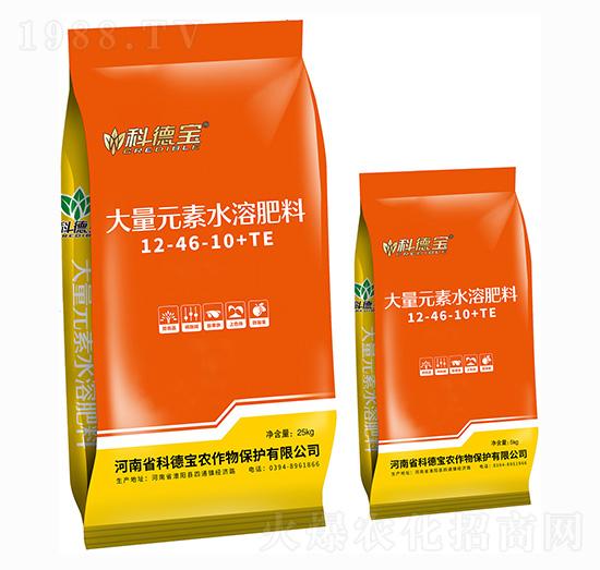 大量元素水溶肥料12-46-10+TE 科德��