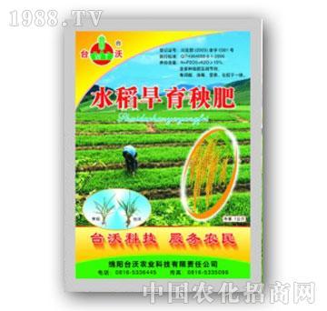台沃-水稻旱育秧肥