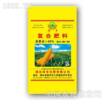 祥丰-28-6-6复合肥料
