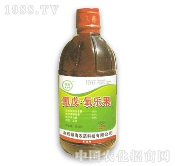 绿海-氰戊氧乐果450ml
