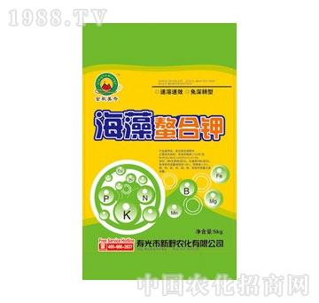新野-海藻�h合钾冲施肥