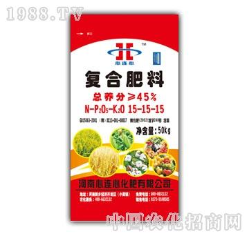 心连心-复合肥料 15-15-15