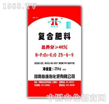 心连心-复合肥料25-6-9