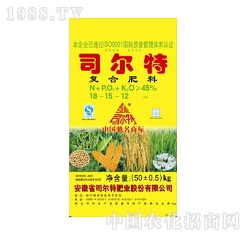 司尔特-氯型18-15-12≥45%(50kg)