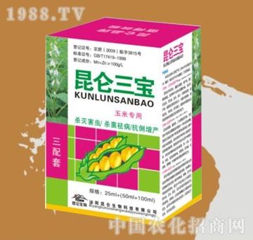 昆仑-昆仑三宝芝麻大豆专用