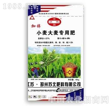 苏北-麦子专用肥