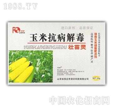 春雨生物-玉米抗病解毒