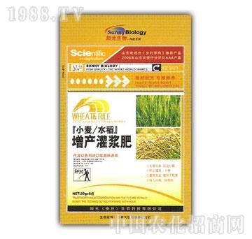 春雨生物-小麦水稻增产