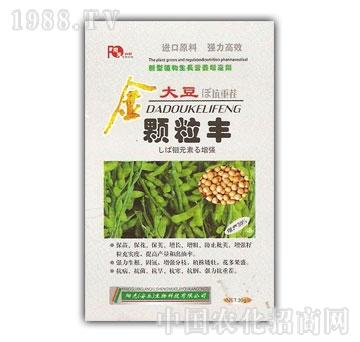 春雨生物-金大豆颗粒丰