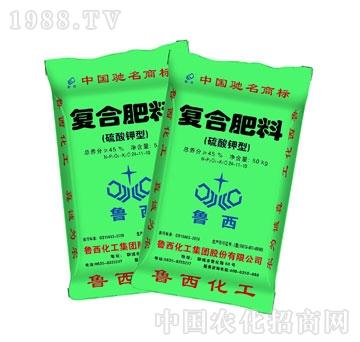 鲁西化工-硫酸钾复合肥