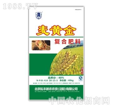 耘丰新农-40%麦黄金