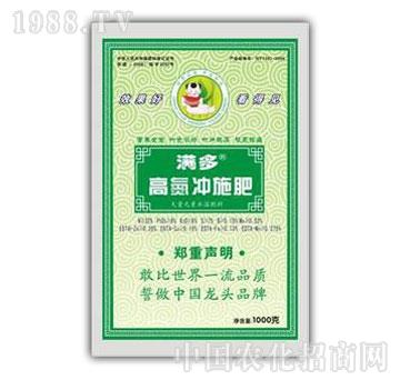 绿悦-满多高氮冲施肥