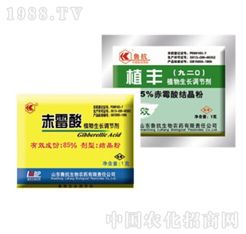 鲁抗生物-85%赤霉酸结晶粉