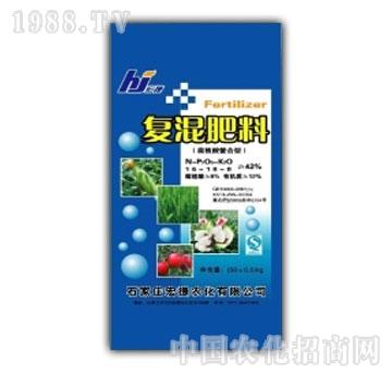 宏捷农化-复混肥料(腐植酸鳌合型)