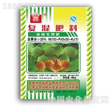 大维-核桃专用肥13-5-7