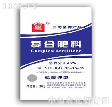大维-硫酸钾型15-15-15