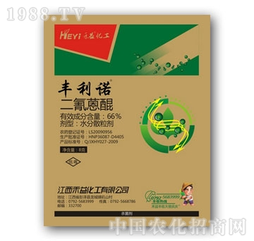 禾益化工-66%二氰蒽醌WG