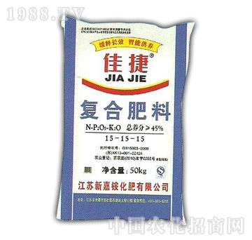 新嘉铵-45%复肥15-15-15