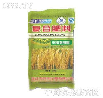 苏洋-复合肥料(水稻专用肥)