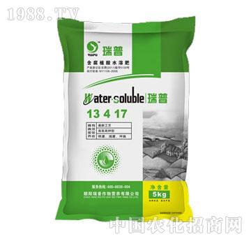 瑞普-含腐植酸水溶肥13-4-17