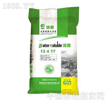瑞普-含腐植酸水溶肥13-4-17(25kg)