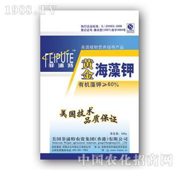 60%黄金海藻钾