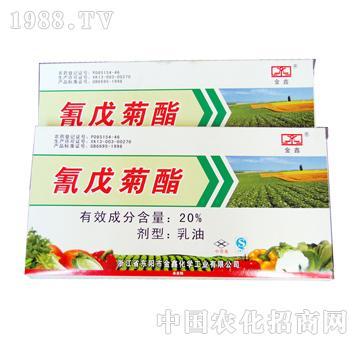 金鑫-氰戊菊酯乳油