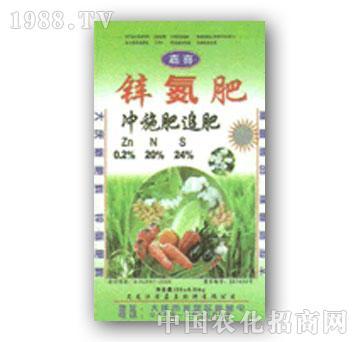 嘉喜-锌氮肥(冲施肥)