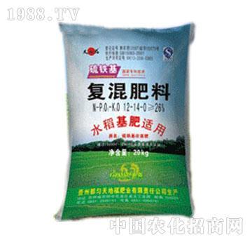 方舟-硫铁基水稻套餐肥