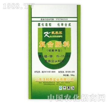 沃科奇-40%复合肥料(硫酸钾型)