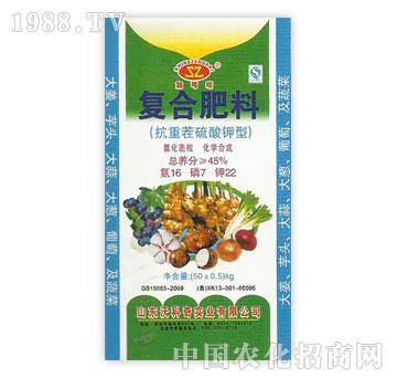 沃科奇-复合肥料(抗重茬硫酸钾型)