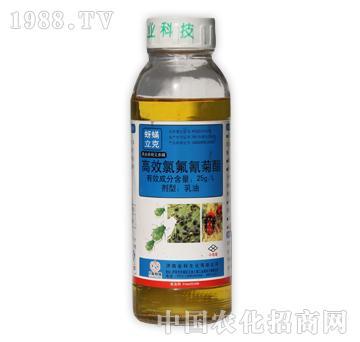 亿友-蚜螨立克-25g/L高效氯氟氰菊酯