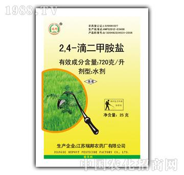 瑞邦-2.4-滴二甲胺盐水剂