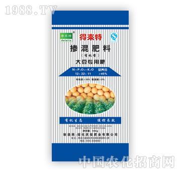 力圣-得来特牌大豆专用肥(12-22-11)
