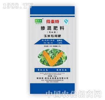 力圣-得来特牌玉米专用肥(13-18-11)