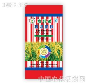 力圣-高科迪牌水稻有机长效肥(12-18-12)