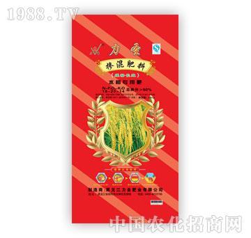 力圣牌水稻专用肥(16-20-14)