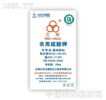 云天化-农用硫酸钾优等品(25kg)