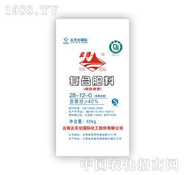 云天化-硝铵磷复合肥料28-12-0(40kg)